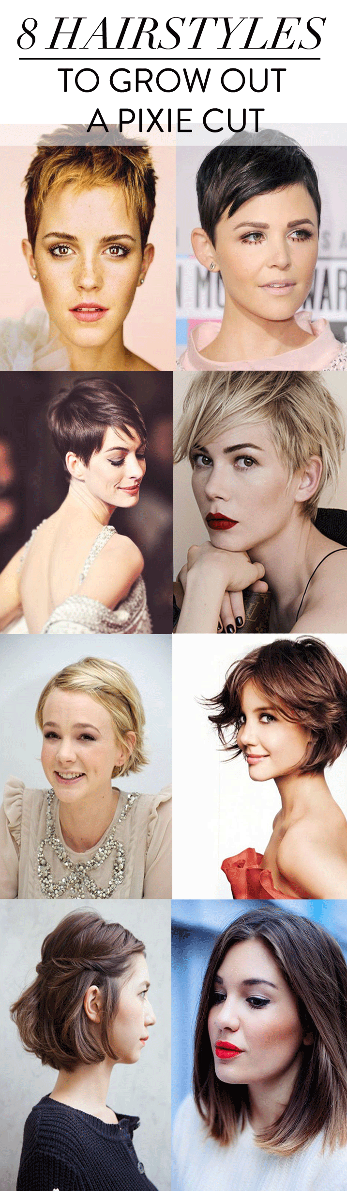how to style pixie cut hair pixie haircut growing out haircuts models ideas 3132